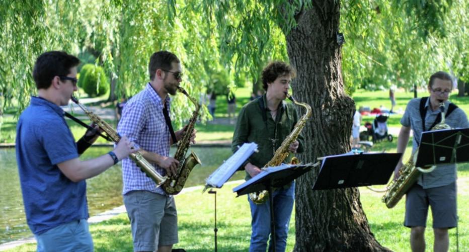 Jamaica Plain Saxophone Quartet