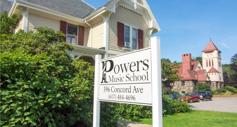 Powers music school main building