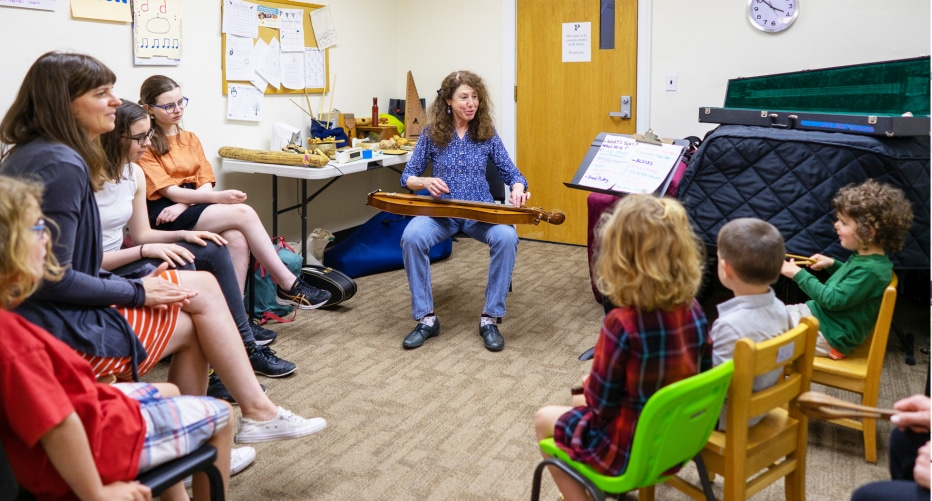 folk instrument workshop