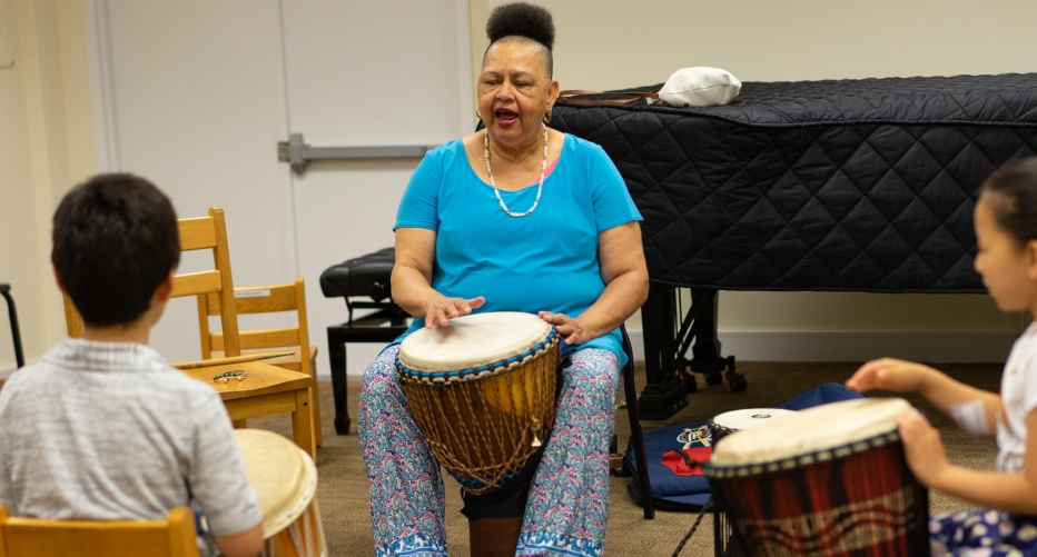 Afro-Caribbean Drumming