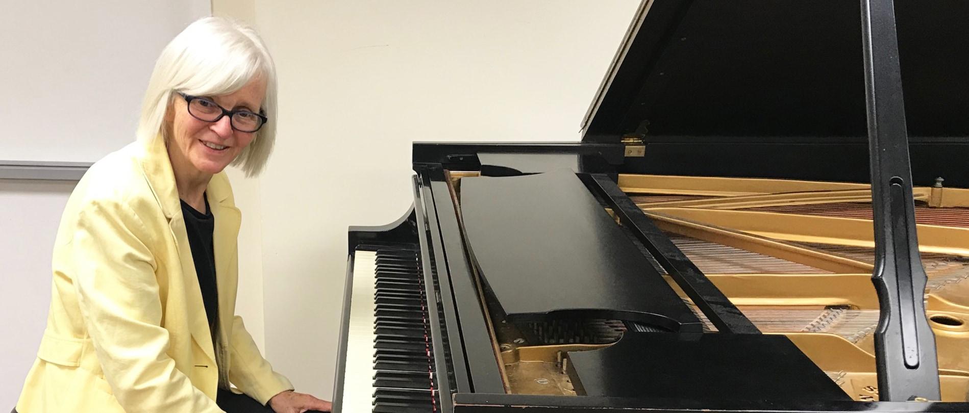 Dominique Haughton, piano student