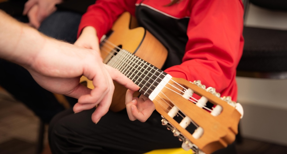 music therapy student