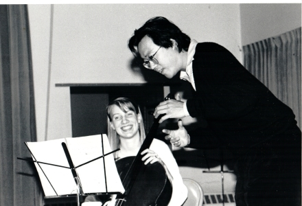 Yo-Yo Ma teaching masterclass at Powers