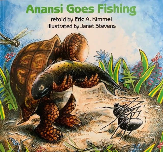 Anansi Goes Fishing cover