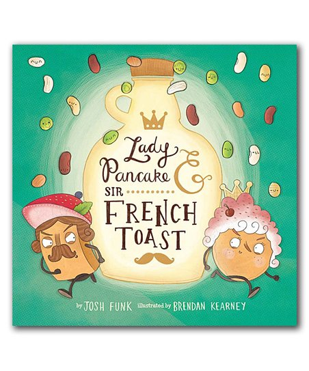 Lady Pancake and Sir French Toast cover