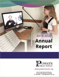FY20 Annual Report cover image