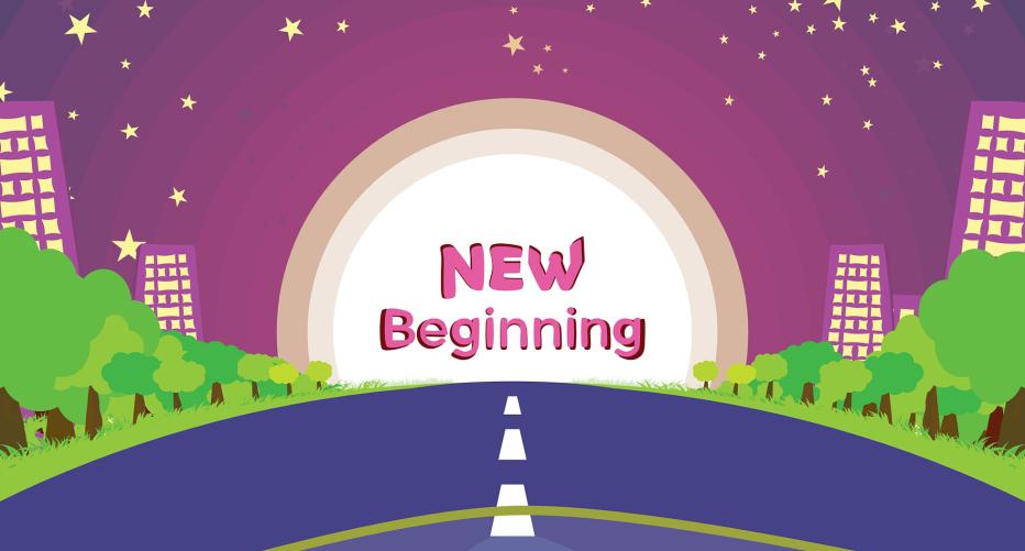 a new beginning image